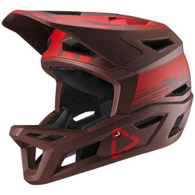 Leatt DBX 4.0 Super Ventilated Full Face Helmet ruby